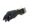 12'' 4 mil Polytuff Solvent Process Conductive Polyurethane Gloves 1 Pair Small