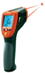 Dual Laser Wide Range IR Thermometer w/ Type K Input and USB Interface 50:1