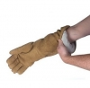 18'' Qualatherm Thermal Protection Gloves Dry Handling to 1,400F 1 Pair One Size Only - Universal Large