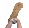 27'' Qualatherm Thermal Protection Gloves Dry Handling to 1,400F 1 Pair One Size Only - Universal Large