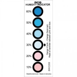 6 Spot Humidity Indicator 10-60% Card 200/Can