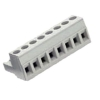 8213 Series 5.08mm Pluggable PCB Terminal 2P White Insulator