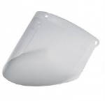 WP96 Clear Polycarbonate Faceshield Window 10/Case