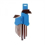 9-Pc Ball-Point Hex Key Metric Set