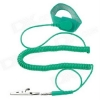 AntiStatic Metal Wrist Strap 6ft Adjustable Green