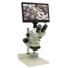 DSZV-44 Trinocular Microscope with Mighty Cam Eidos 2M Integrated Camera/Monitor