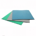 ESD Rubber Mats 2' x 50' Gray 2-Layer