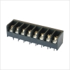 Barrier Terminal Block 300V 10A 6.35mm 4 Poles