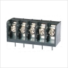 Barrier Terminal Block 300V 10A 6.35mm 6 Poles