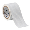 Thermal Transfer Printable Labels .65 x .2'' White Static Dissipative Polyimide 10,000/Roll