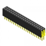 Female Header 2x5 Dual Rows 1.27mm SMT 4.3mm Height ROHS