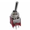 DPDT Toggle Switch sub-miniature M2, .370mm Sealed