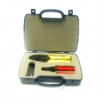 3-Pc Tool Kit w/ Cutter Crimper Stripper