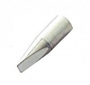 Weller .40'' Thread-on Plated Chisel Tip for Standard & DI-Line Heaters