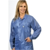Hip-Length Lab Coat Blue Lightweight OFX-100 Fabric - Medium