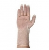 12'' ISO 5 Clear Vinyl Cleanroom Gloves 100/Pkg Small