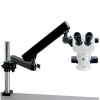 Stereo Microscope Flex Arm Stand Zoom 8-50X