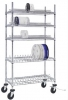 ESD-Safe Reel Shelving Unit for 10'' Reels 18'' x 36'' x 69''