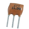 2 Pad and 3 Pad Cermaic Resonators 2 MHz 80 Ohms 30pF 5.5 x 10mm ±0.5% @ 25℃