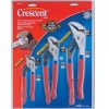 Crescent 3-Piece Tongue & Groove Pliers Set 7''/10''/12''