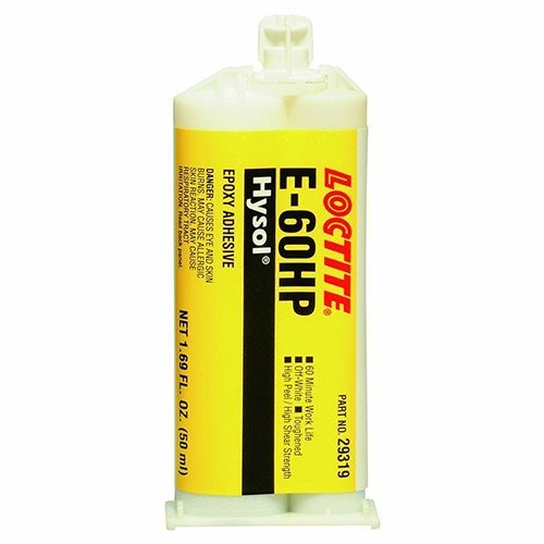 Hysol E-60HP Epoxy 50 ml Dual Cartridge