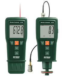 Vibration Meter & Laser/Contact Tachometer NIST Certified