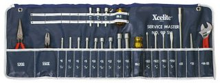 Xcelite 23-Piece Series 99 Service Roll Kit Canvas Case