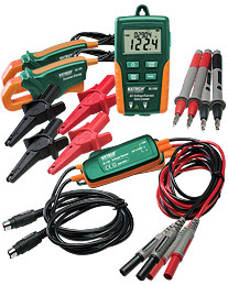 Dual Input True RMS AC Voltage/Current Datalogger