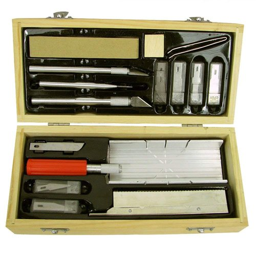 30-Pc Hobby Craft Molders Knife Toolset
