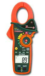 1000A True RMS AC/DC Clamp Meter w/ IR Thermometer