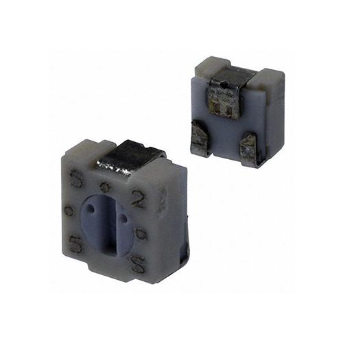 Lot of 2 Rectilinear 15-turn Cermet Potentiometer 1K