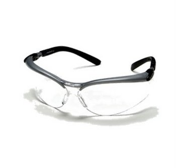 BX Gray/Black Protective Eyewear Frame Clear Anti-Fog Lens  20/Case