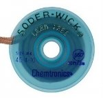 Solder-Wick Lead-Free Sd 0.030''/0.8mm White 5'